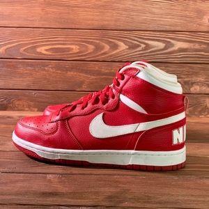 Nike Shoes - Red High Too Nike's